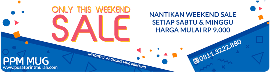 Weekend Sale Souvenir Termurah